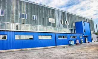 Производственный комплекс компании Альта-Профиль в Виннице