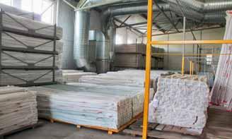 хранения товара на складе производственного комплекса Альта-Профиль Украина
