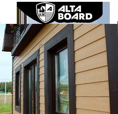 Коллекция сайдинга ТМ Альта Борд Alta Board