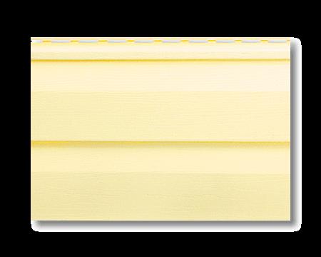 Панель сайдинг лимонный Альта-Сайдинг