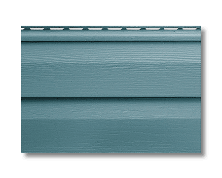 Панель сайдинг серо-голубой Альта-Сайдинг