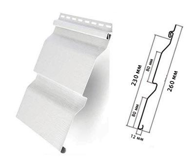 форма сайдинга корабельный брус