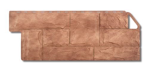Фасадная панель под камень Гранит Карпатский Альта-Профиль